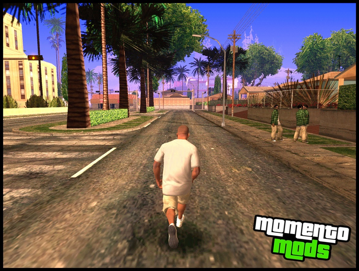 GTA SA - Animações do GTA V Para GTA San Andreas