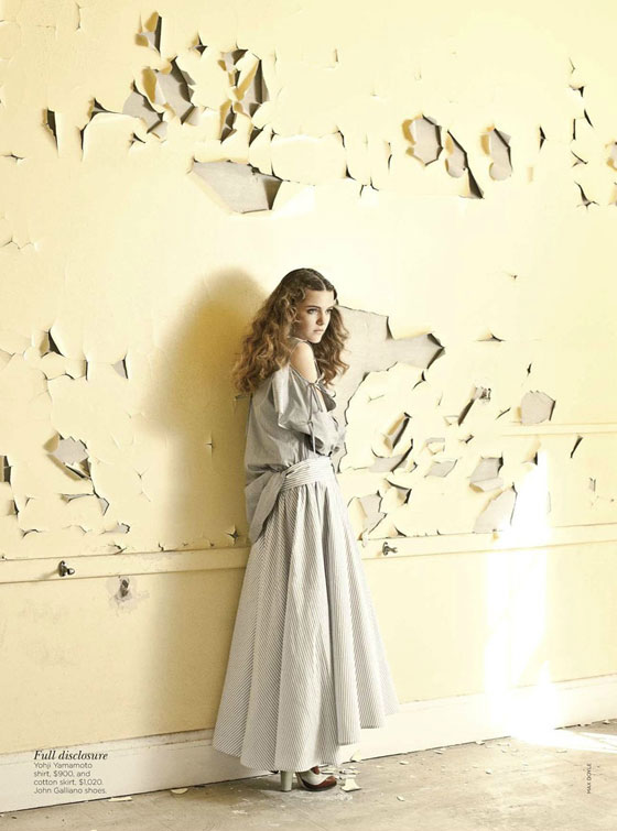 Vogue Australia march 2012
