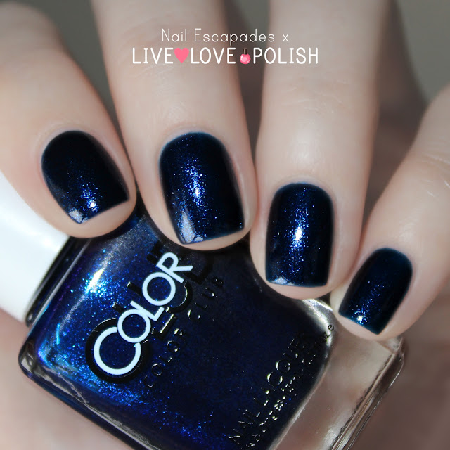 Color Club Holographic Nail Polish Swatches: Nail Escapades: Live Love Polish // Color Club Swatches