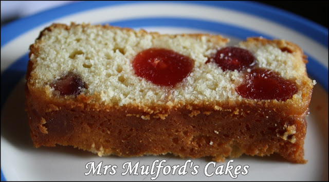 Mrs Mulford's Cakes: Tangy Cherry and Lemon Cake