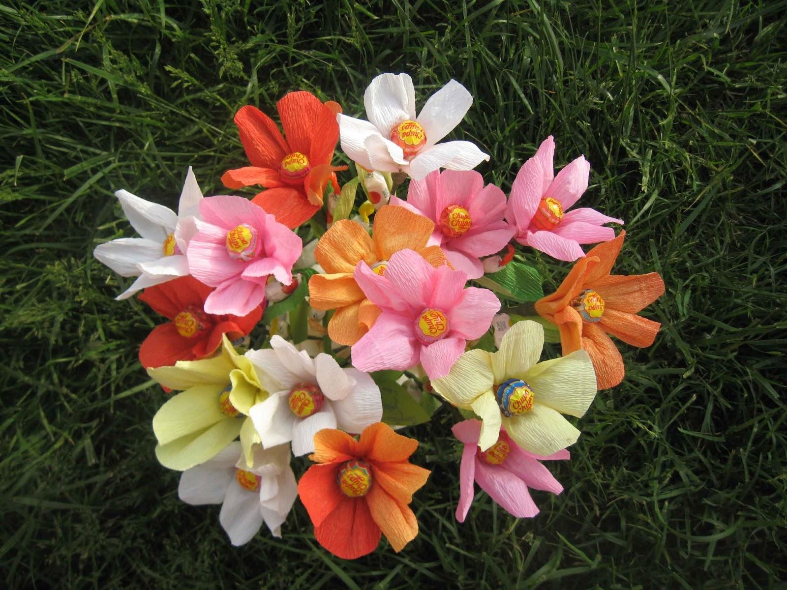 Favoloso 1 post creativo al giorno: #147/365 Favors di compleanno a fiore MJ54