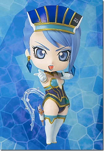 Chibi-Arts Blue Rose figures