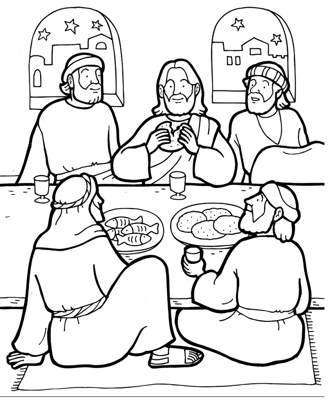 Sekolah Minggu Ceria: Gambar Cerita Alkitab tentang Kematian (Jumat ...