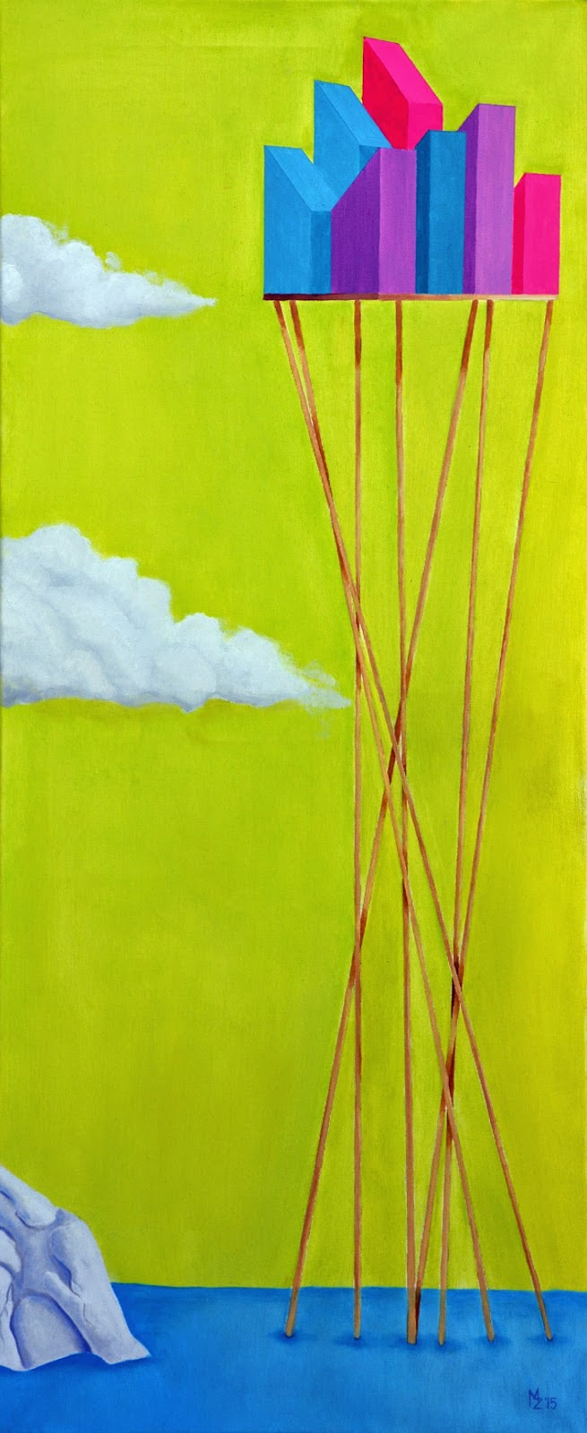 Surrealistyczny wernisaż w Galerii Jednego Obrazu, czyli malarstwo Miłosza Zawistowskiego