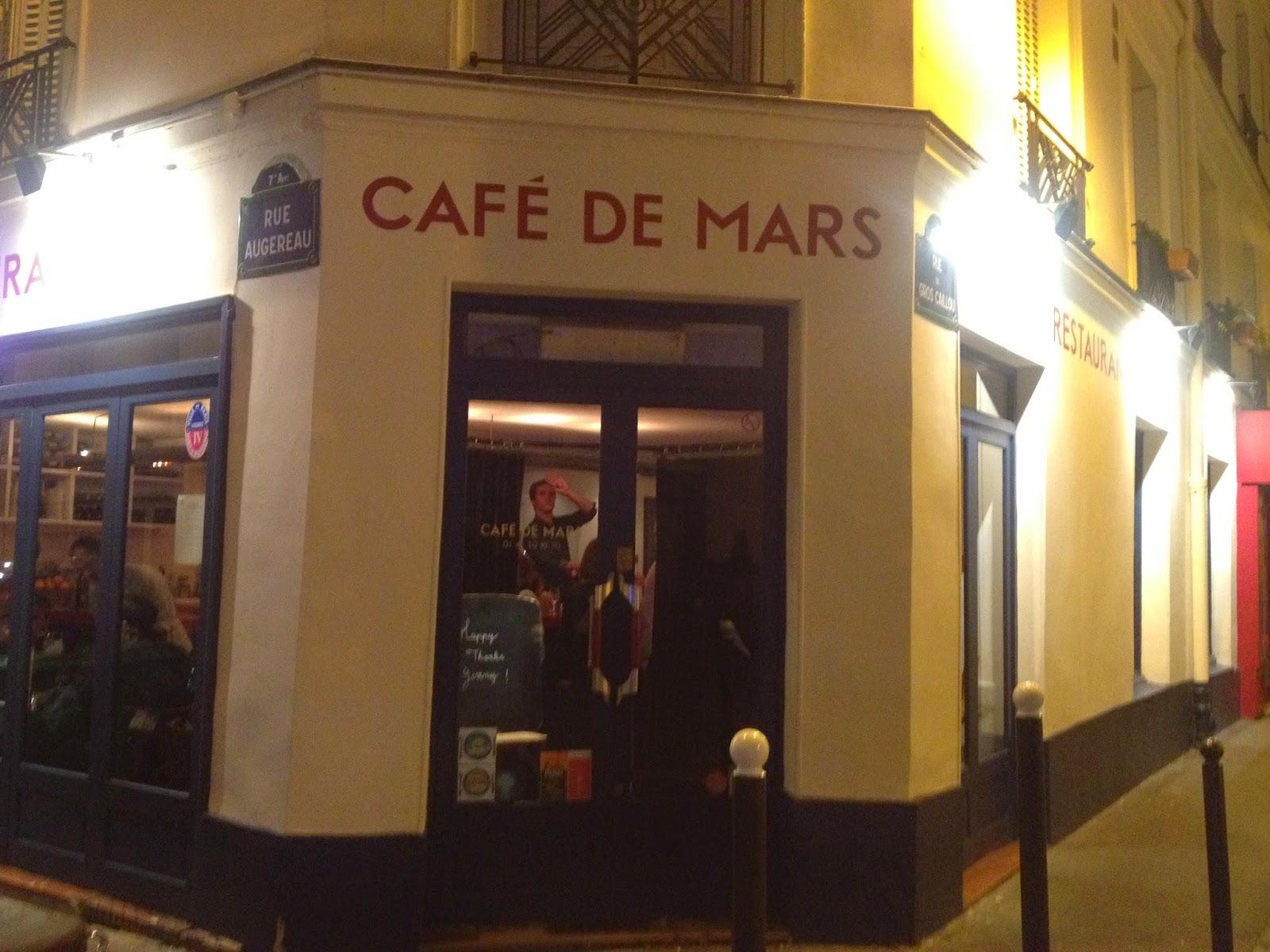 Café de Mars, Paris