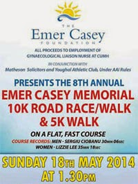 Popular 10k in Youghal, E.Cork...21st May