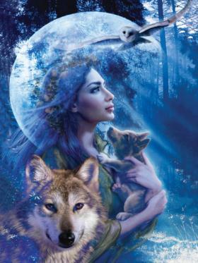 Donna coi lupi