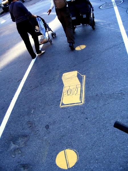 10 faixas de pedestres inusitadas