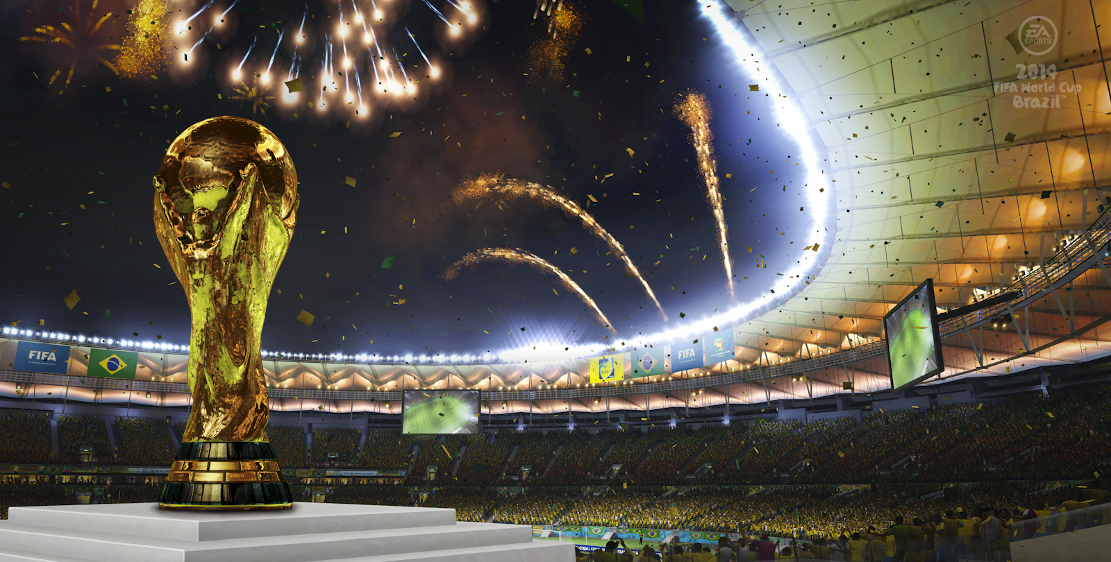 EA Announces 2014 Fifa World Cup Brazil - weknowgamers
