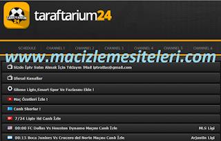 Taraftarium 24 org güncel Türkçe canlı maç izleme