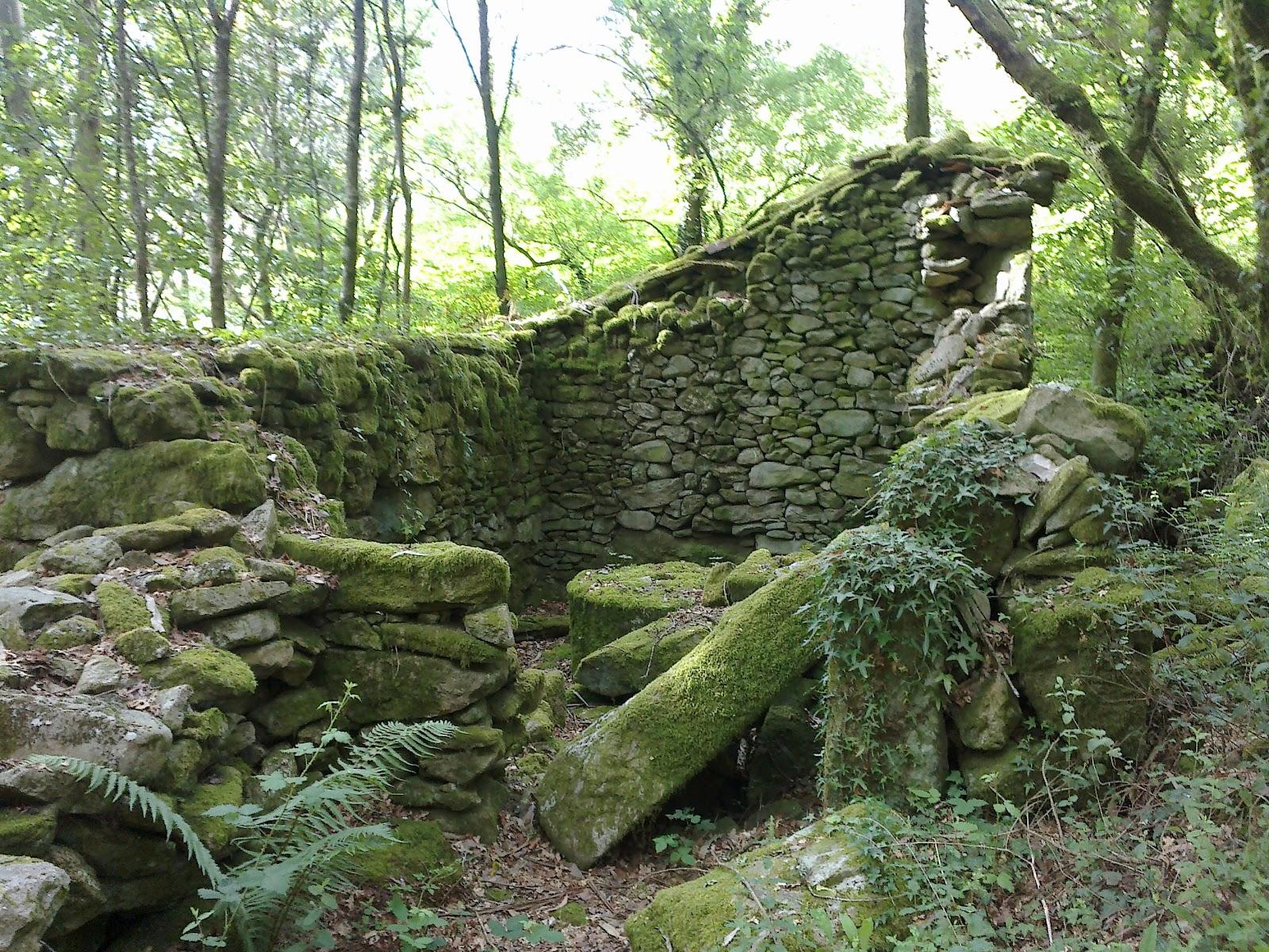 Molino en ruinas en Riamonte