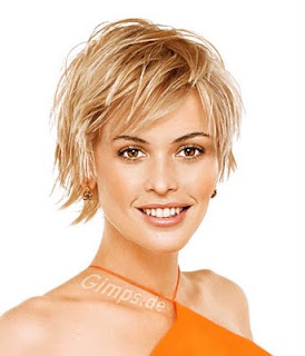 coiffure cheveux courts blonds tendance 2014