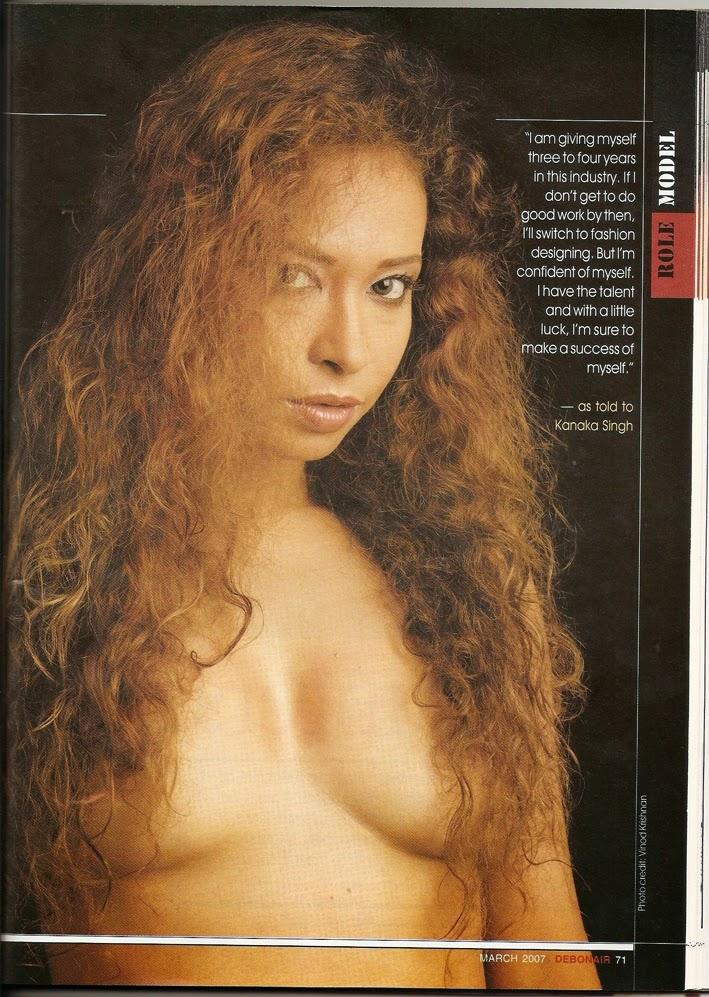 Ishika Borah nude showing her nipples