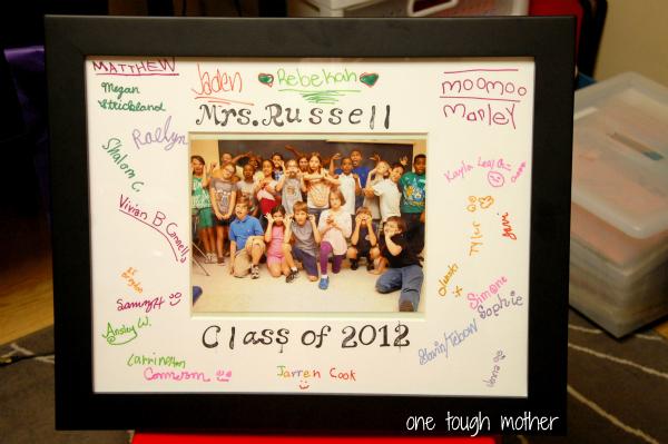 Diy teacher gift ideas sweet tea saving grace for Class picture ideas