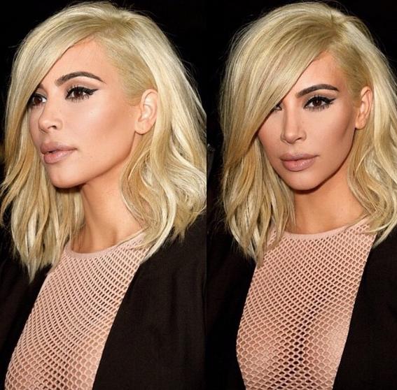 Kim Kardashian Luxe Models Hair