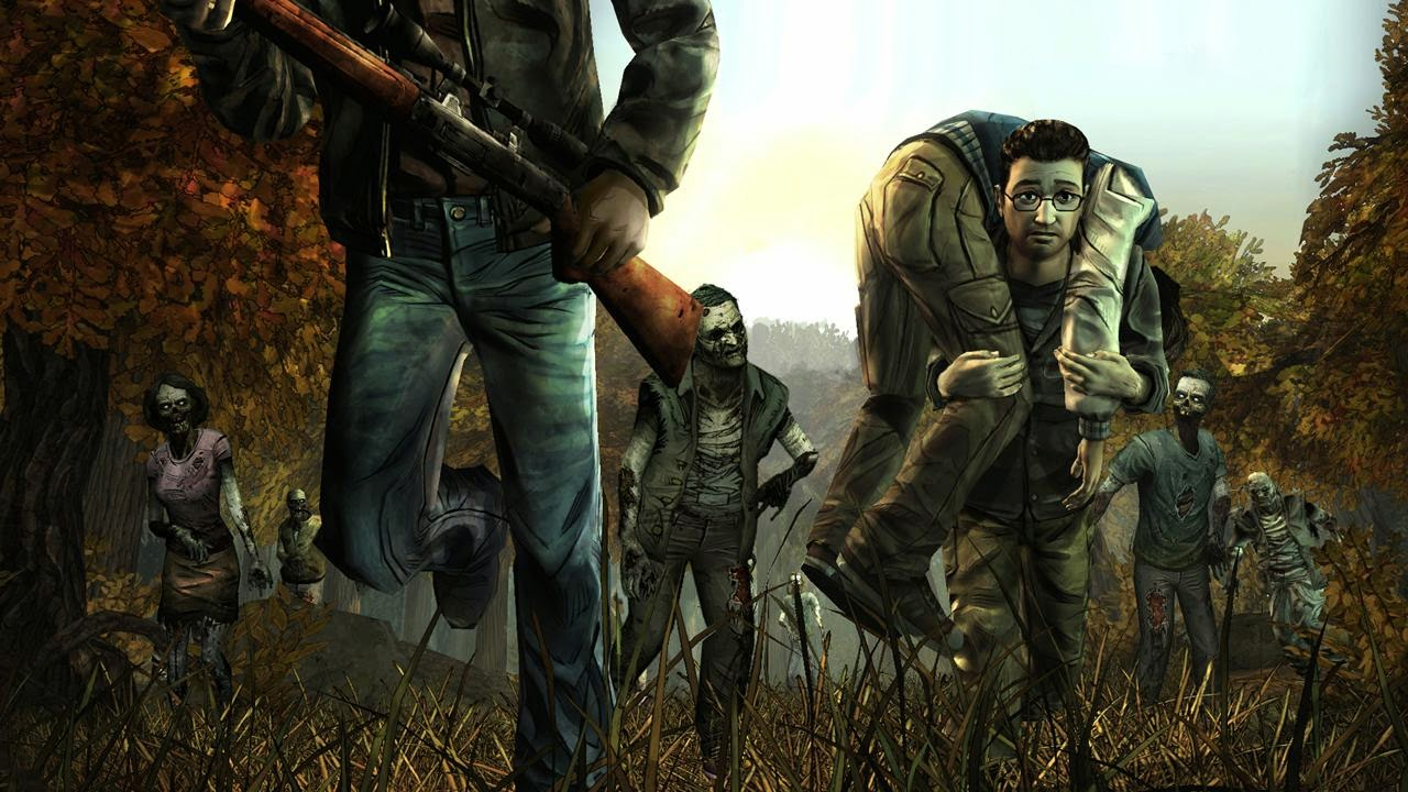 Android Game The Walking Dead: Season One .