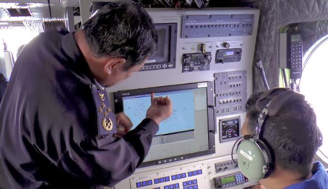Pesawat Milik TNI Bantu Cari Pesawat Malaysia Airlines
