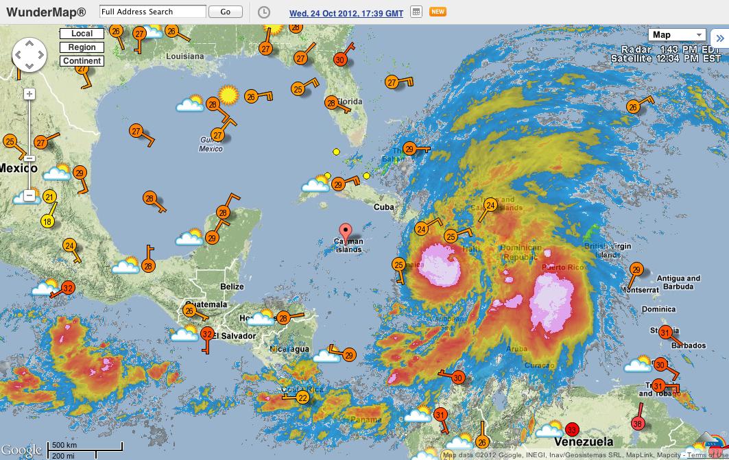 Weather Grand Cayman Islands February