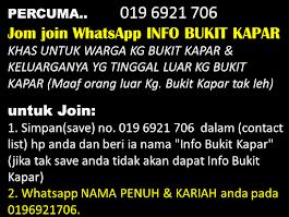 WhatsApp INFO BUKIT KAPAR