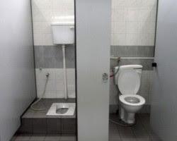 toilet duduk atau jongkok