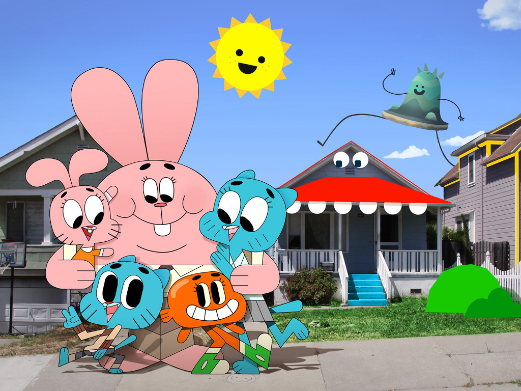 The Amazing World of Gumball Cartoon Picture