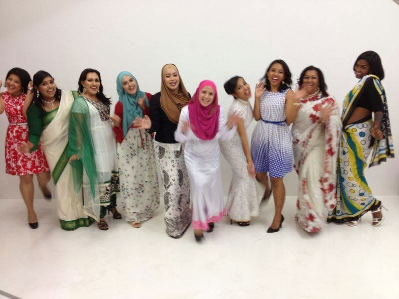 Group photoshoot, Glampreneur, Authenticircle, Milliondollardivas, Premium Beautiful, Azniza Arshad, Suzane Samy, Maisarah Ibrahim