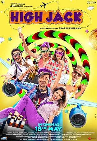 Poster Of Bollywood Movie High Jack 2018 300MB Pdvd Full Hindi Movie