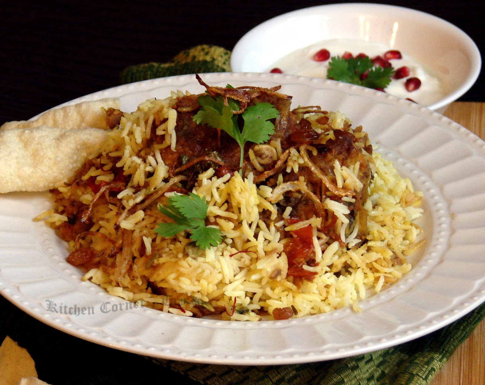 Kitchen Corner-Try It: Fried Chicken Biryani