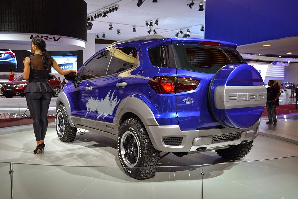 Ford apresenta conceitos EcoSport Storm, Beast e Beauty