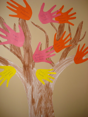 paper crafts for kids: fun fall activity tree