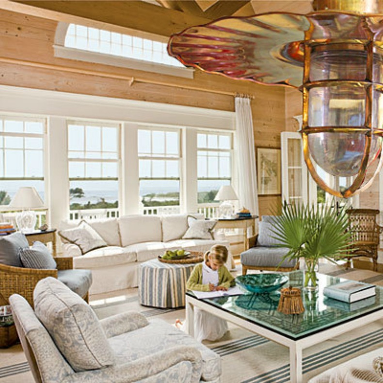 Inspirations On The Horizon Rooms With Coastal Lighting