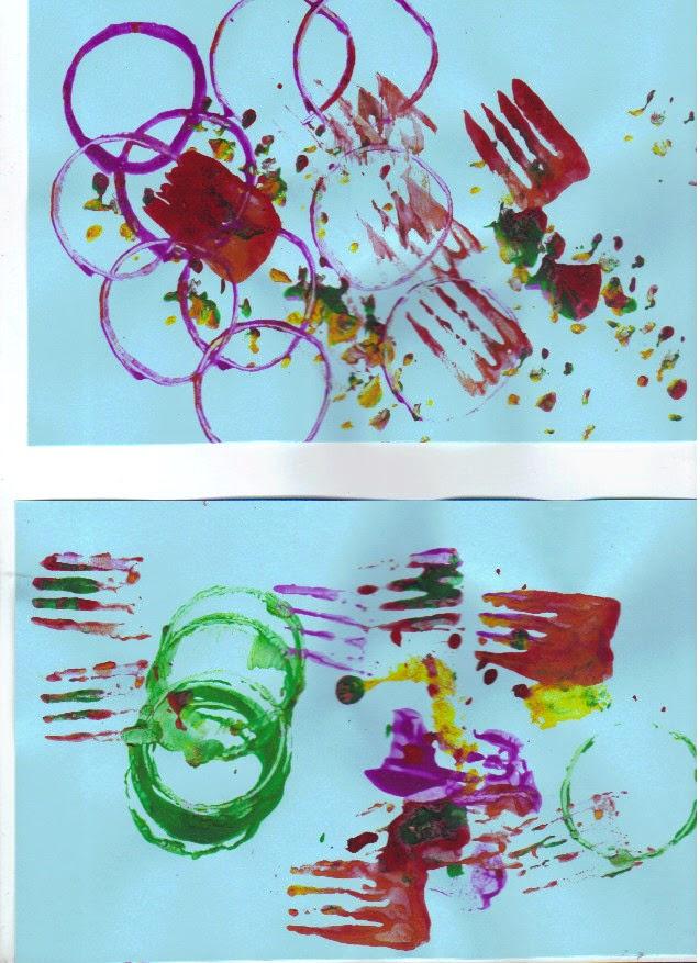 Info garderie peindre sans pinceau for Peindre sans lessiver