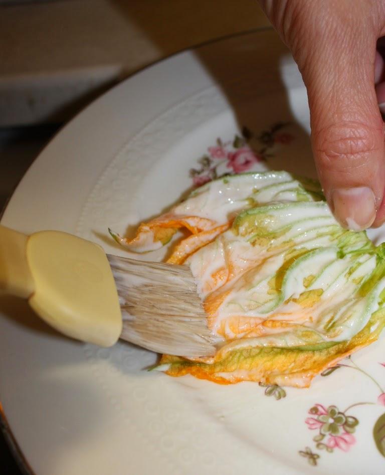 pastella fiori di zucca