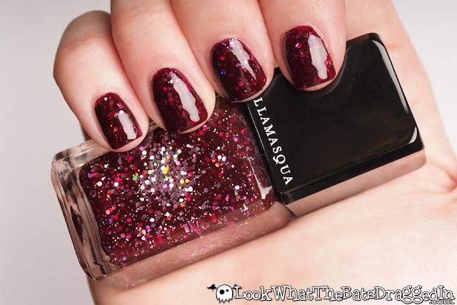 Illamasqua Glitterati limited edition nail polish swatch manicure