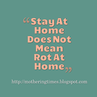 Stay At Home Mom Quote