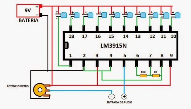 Circuito Luces Audioritmicas : Lm n otro circuito para luces ritmicas blse