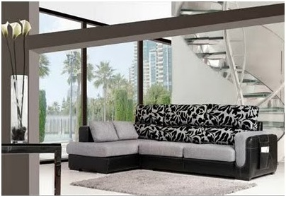 Modern and elegant sofas. Furniture for living room