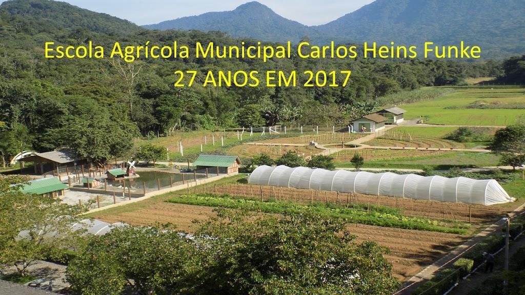 Escola Agrícola Municipal Carlos Heins Funke - 27 ANOS EM 2017