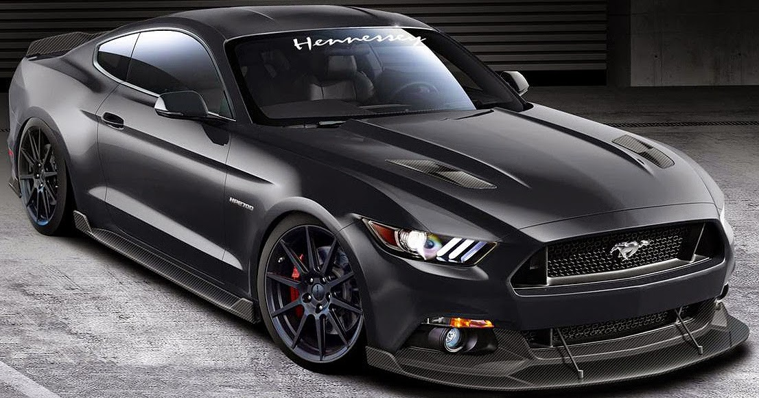 teaser us hennessey hpe 700 ford mustang gt 2015. Black Bedroom Furniture Sets. Home Design Ideas