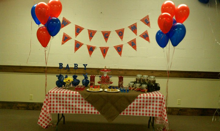 Baby Shower Zilla ~ A day in the life cowboy baby shower dessert table
