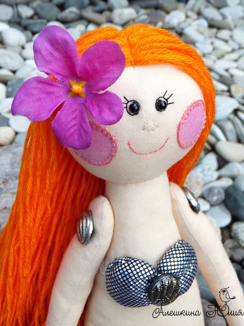 Авторская кукла русалочка