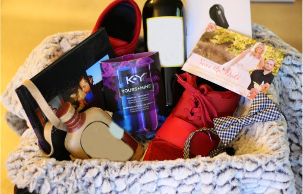 K-Y YoursandMine, Valentine's Day, Date Night Basket