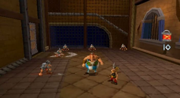 Asterix & Obelix XXL 2: Mission WiFix PSP Screenshot 1