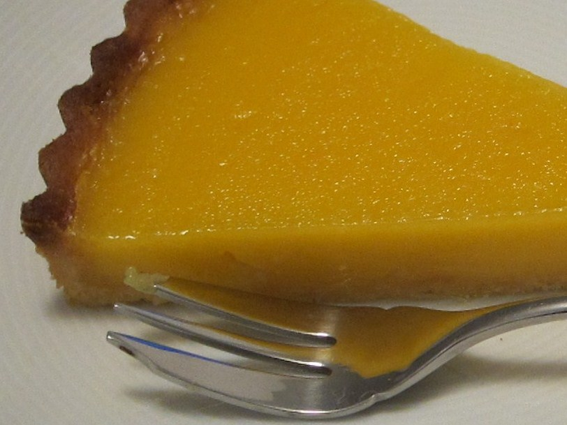 ... cara orange cream tart some candied orange peel seville orange tart