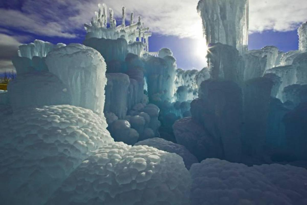 Ice Castle at Silverthorne, Colorado 4