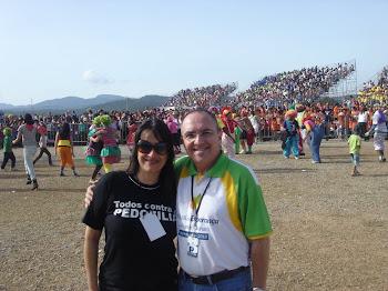 Marta Lança e Marcos Lovera - Gerente Reginonal da SBB - Minas Gerais