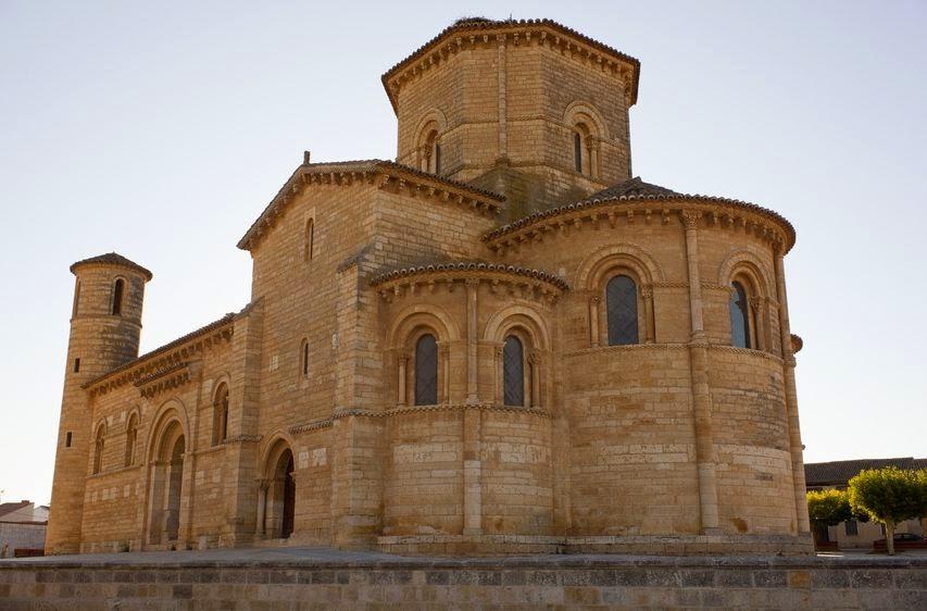Ciencias sociales geografia y historia iglesia romanica for Interior iglesia romanica
