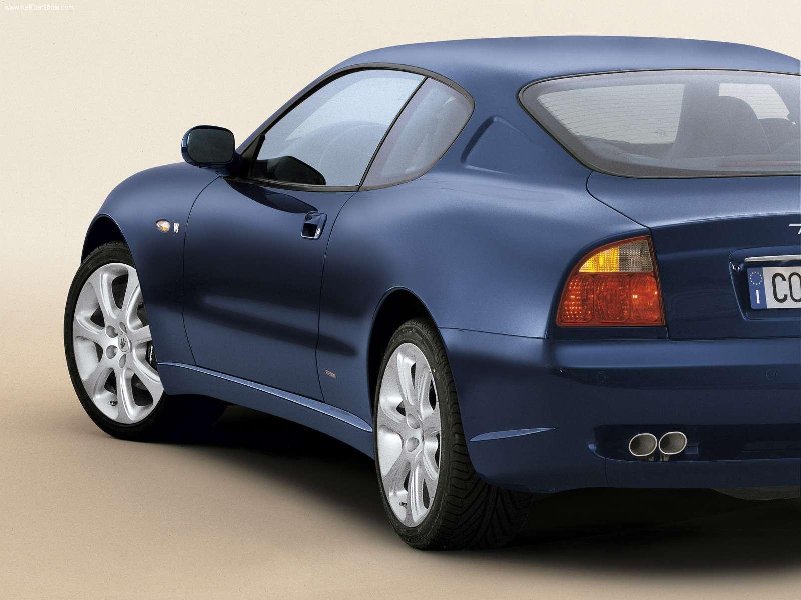 Hình ảnh siêu xe Maserati Coupe 2003 & nội ngoại thất