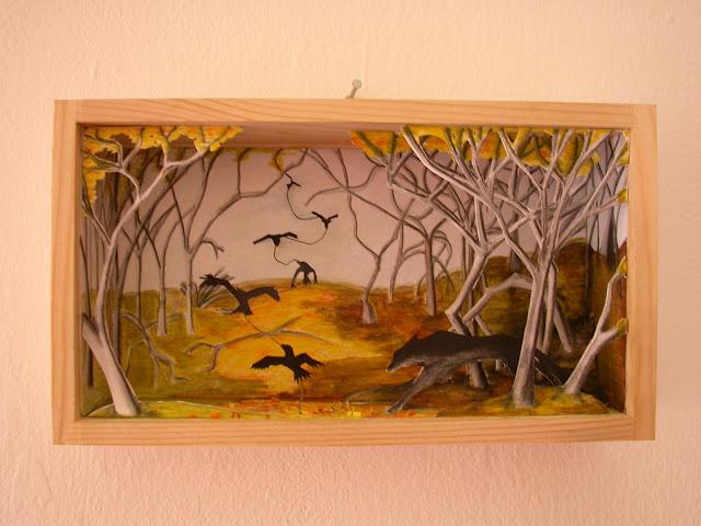 mandarinux: El siguiente nivel: teatritos con marco de madera. El ...
