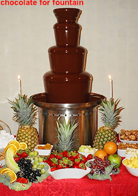 chocolate for fountain